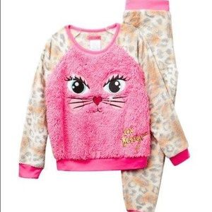 NWT Betsey Johnson Animal Print Jogger Pajama Set